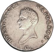 ⅔ thaler Jérôme Bonaparte – avers