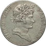 1 thaler Jérôme Bonaparte (Mining thaler) – avers