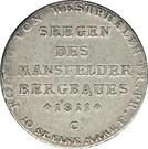 1 thaler Jérôme Bonaparte (Mining thaler) – revers