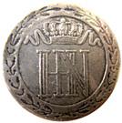 20 centimes Jérôme Bonaparte – avers