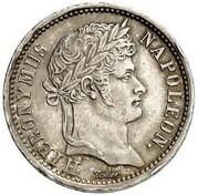 1 frank Jérôme Bonaparte – avers
