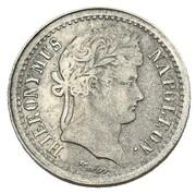 ½ frank Jérôme Bonaparte (Frappe essai en nickel) – avers