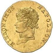 5 thaler Jérôme Bonaparte – avers