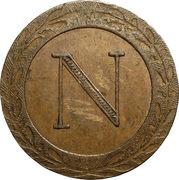 5 centimes Napoléon Ier (Strasbourg) -  avers