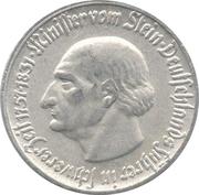 50 pfennig - Westfalen (Freiherr vom Stein) – revers