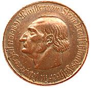 5 millions de marks - Westfalen (Freiherr vom Stein) – revers
