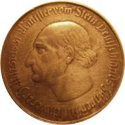 100 mark - Westfalen (Freiherr vom Stein) – revers