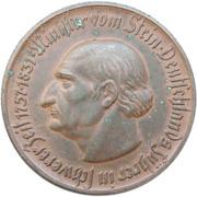 10 mark - Westfalen (Freiherr vom Stein) – revers