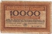 10,000 Mark – avers
