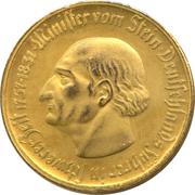 50 millions de marks - Westfalen (Freiherr vom Stein) – revers