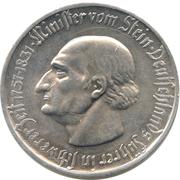 50 millions Mark - Westfalen (Freiherr vom Stein) – revers