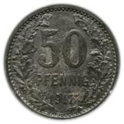 50 pfennig - Wetter – revers