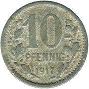 10 pfennig - Wetter – revers