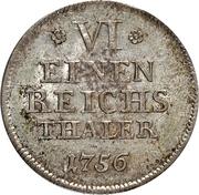 ⅙ Thaler - Friedrich Alexander -  revers