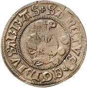 3 Pfennig (Präsenzzeichen; Countermarked) – revers
