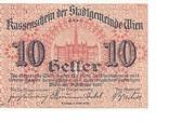 10 Heller (Wien) – avers