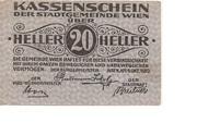 20 Heller (Wien) – avers
