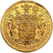 5 ducats Joseph Nicolas – revers