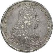 1 Thaler - Leopold Victor Johann – avers