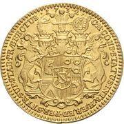 1 ducat Leopold Victor Johann – revers