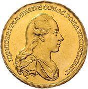 5 ducats Joseph Nicolas – avers