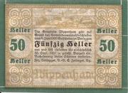 50 Heller (Wippenham) – revers