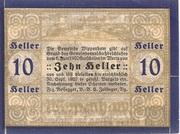 10 Heller (Wippenham) – revers