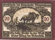 20 Heller (Wippenham) – avers