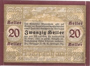 20 Heller (Wippenham) – revers