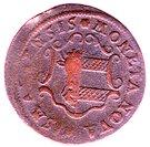 3 Pfennig - Adolph Fredrik (Occupation suédoise) – avers
