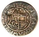 3 Pfennig - Fredrik I (Occupation suédoise) – avers