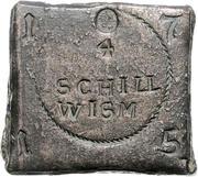 4 schilling (Monnaie de siège) – avers