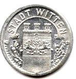 5 pfennig - Witten – avers