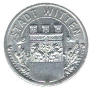 10 pfennig - Witten – avers