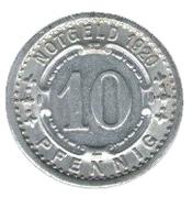 10 pfennig - Witten – revers