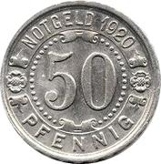 50 pfennig - Witten – revers