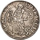 2 Thaler - Georg von Schönenberg (Neu-Leiningen) – revers