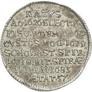 1/12 Thaler - Franz Emmerich Waldbott von Bassenheim – revers