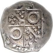 1 Pfennig - Theoderich II. von Plettendorf (Schüsselpfennig) -  avers