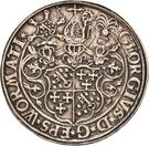2 Thaler - Georg von Schönenberg (Neu-Leiningen) – avers