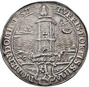 ½ Thaler (Reformation) – avers