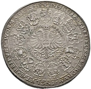 1½ Thaler (Council of thirteen) – revers