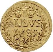 1 Albus (Essai) – revers