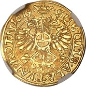 1 Goldgulden – revers