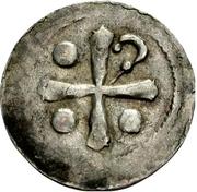 1 Pfennig - Heinrich II. -  avers
