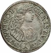 Christian Ulrich silver kreuzer 1684 – avers