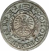 Christian Ulrich silver kreuzer 1684 – revers