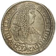 15 Kreuzer - Sylvius Friedrich – avers