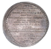 1 Thaler - Sylvius Friedrich (Death of Elisabeth Maris) – revers
