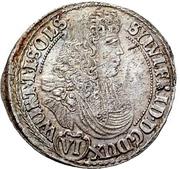 6 Kreuzer - Sylvius Friedrich – avers